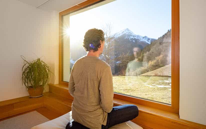 Tanafreida Appartements Montafon   Meditationsraum